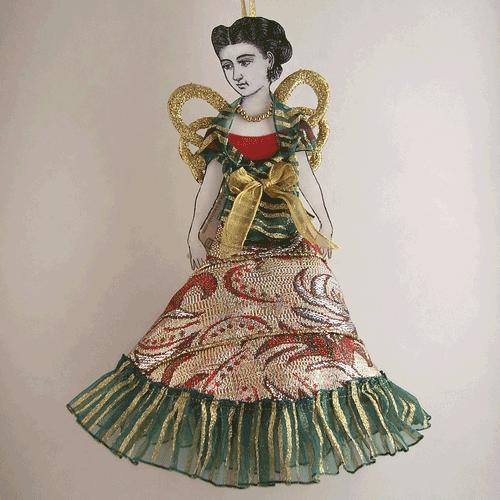 angel doll ornament victorian