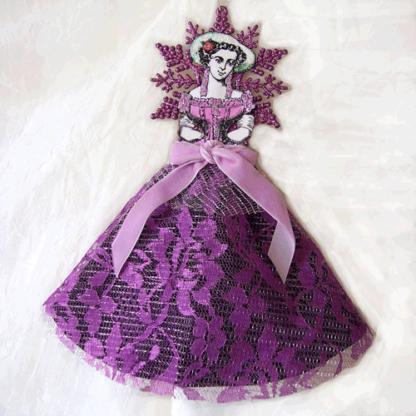 Victorian angel ornament