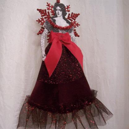 french lady angel ornament