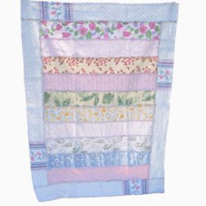 shabby chic rag quilt