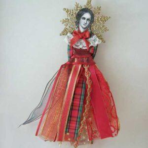 charlotte bronte lady angel ornament