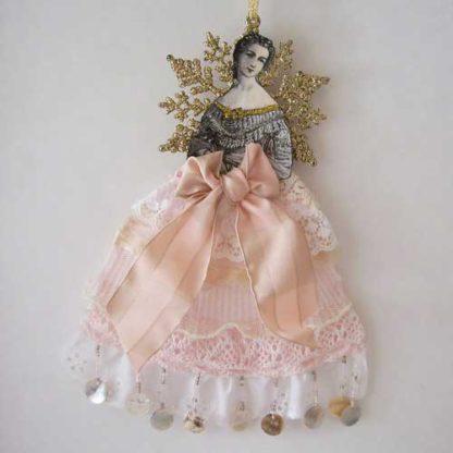 victorian christmas angek ornament