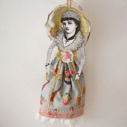 victorian angel doll ornament
