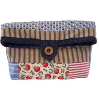 patchwork cosmetics bag $7 with free shipping